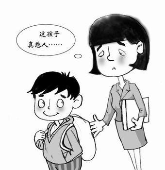 学生教室上课卡通图片