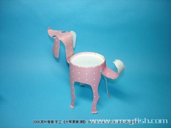 可以教孩子做的手工作品------纸杯动物