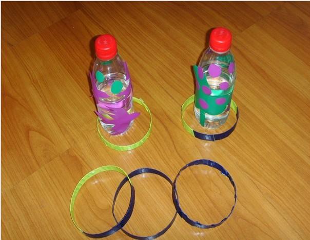 矿泉水瓶教玩具制作