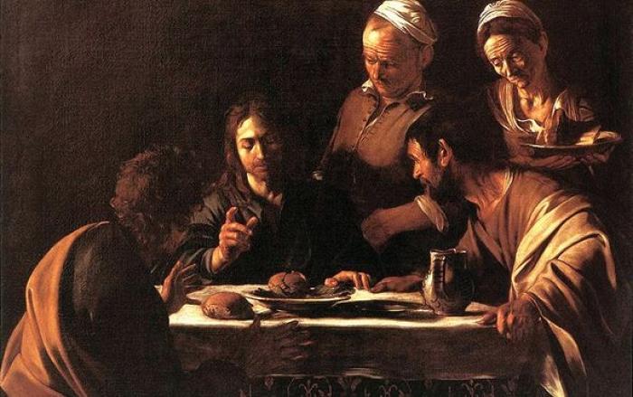 苍井空����y��9��_《以马忤斯的晚餐》意大利 卡拉瓦乔 1605年至1606