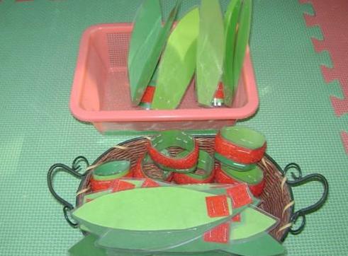 小班手工制作:自制蔬菜
